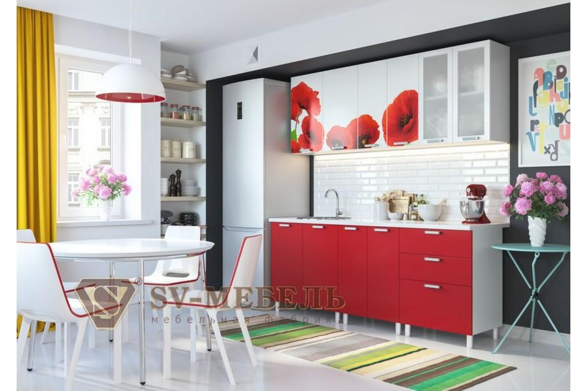 купить кухню маки Sv мебель в луганске лнр